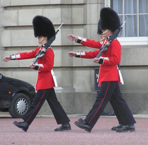 Buckingham Guards 4